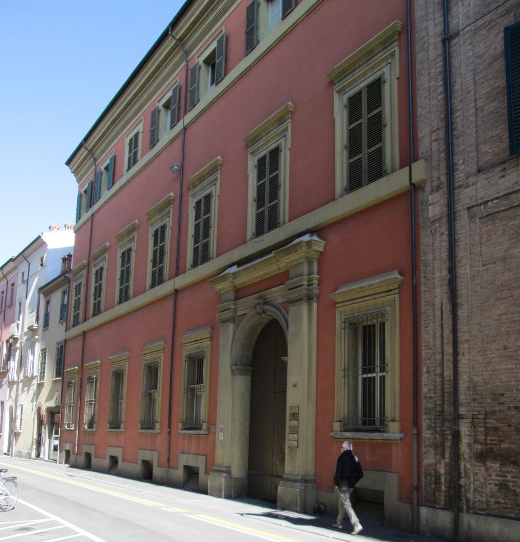Imola, Palazzo Zampieri sede Ufficio Notizie