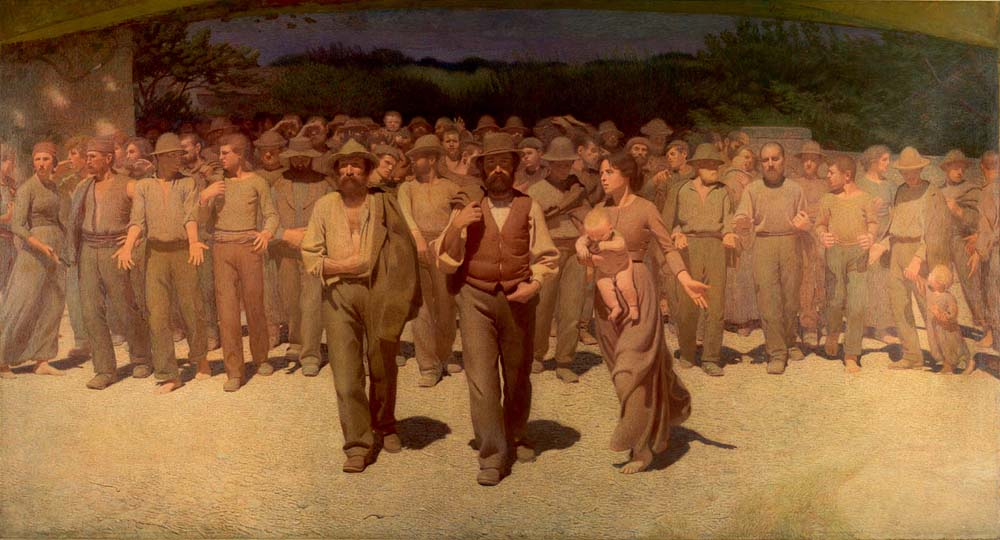 Pellizza da Volpedo, 1901. Quarto Stato