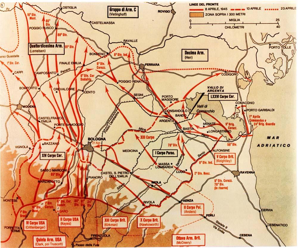 1944-45. La Liberazione della Romagna