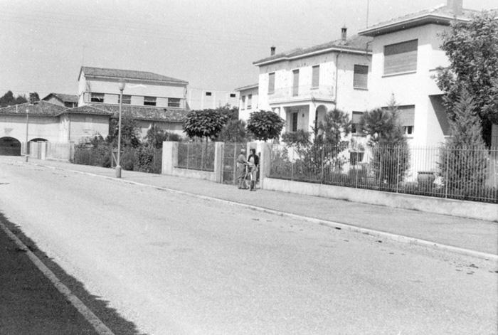 Via Venturini negli anni Sessanta
