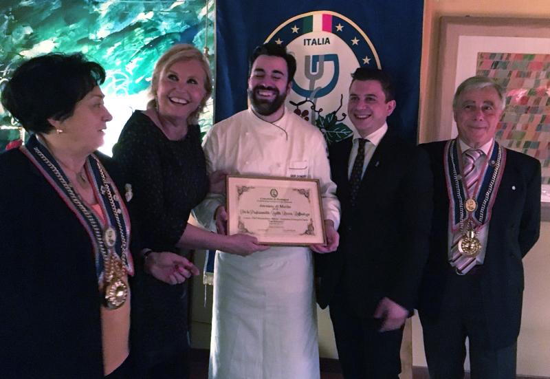 Il San Domenico primo ristorante italiano per la Confederation Europeenne des Gourmets