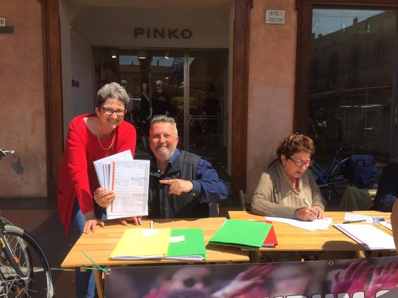 Raccolta firme sui referendum sociali, i banchetti della settimana