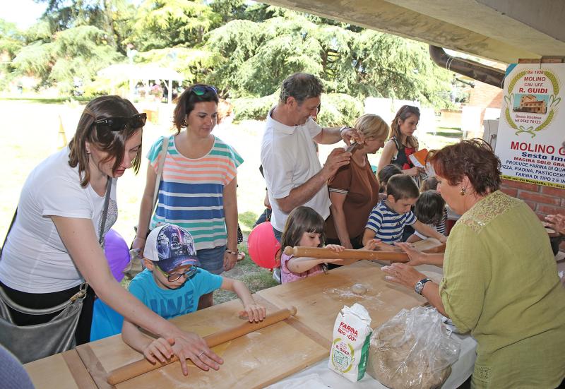 Successo della Fiera Agricola con laboratori per adulti e bambini