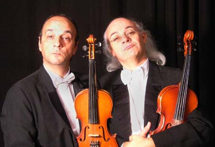 """""""Il suono degli angeli"""": comicità e concerto di arpe"""