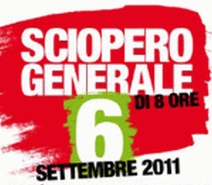 Martedì 6 settembre: la Cgil scende in piazza