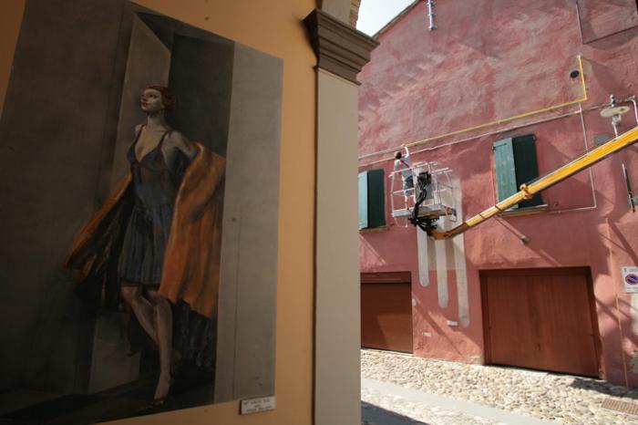Muro Dipinto, lavori in corso