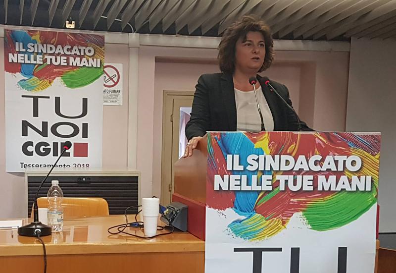 """Mirella Collina nuova segretaria """"di mediazione"""" della Cgil"""