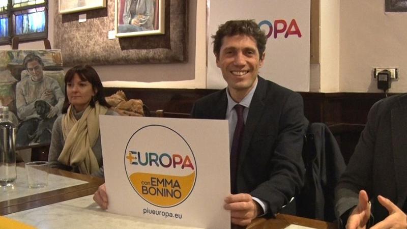 """In tempo di elezioni nasce """"+Europa con Emma Bonino"""""""