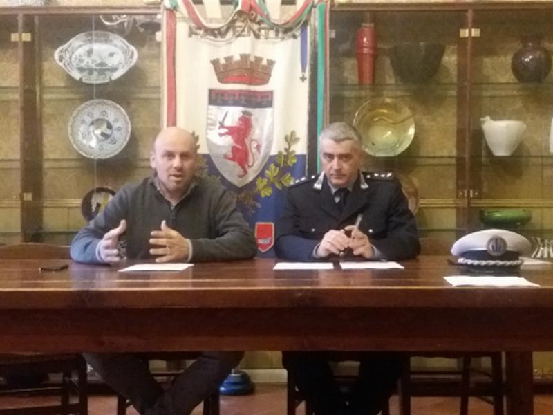 Polizia municipale: presentati i dati dell'attività 2017
