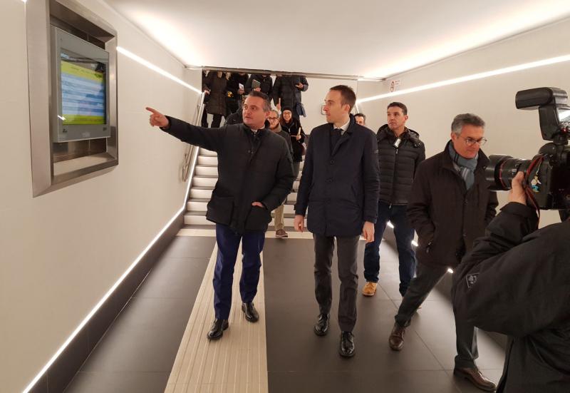 Stazione riqualificata, previste anche nuova illuminazione e tornelli
