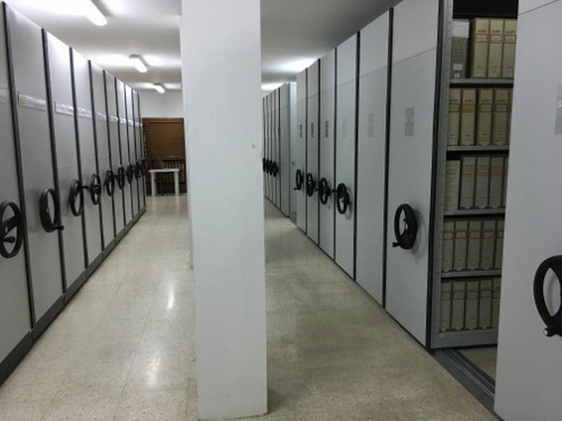 Archivio storico più funzionale e compatto