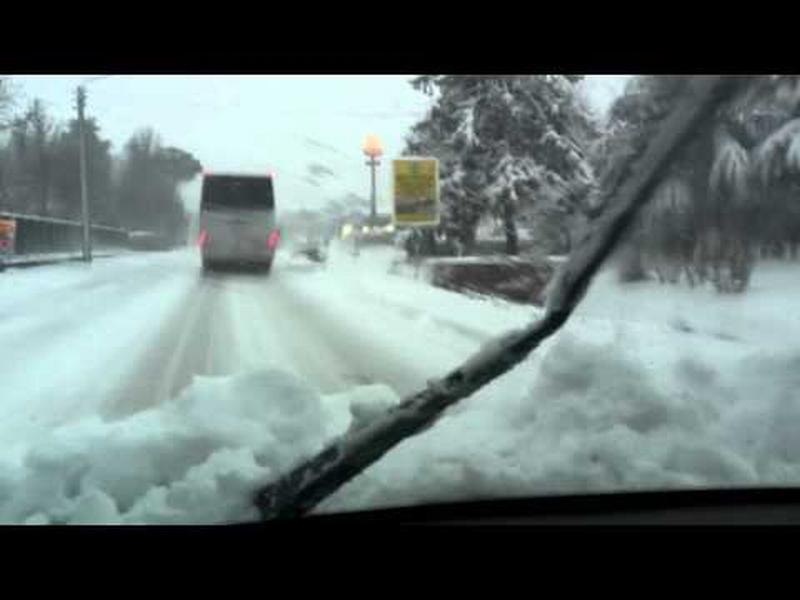 Neve e possibile ghiaccio sulle strade: scuole chiuse il 2 marzo