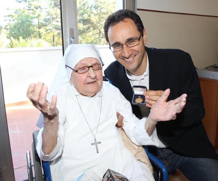 I 100 anni di suor Annunziata