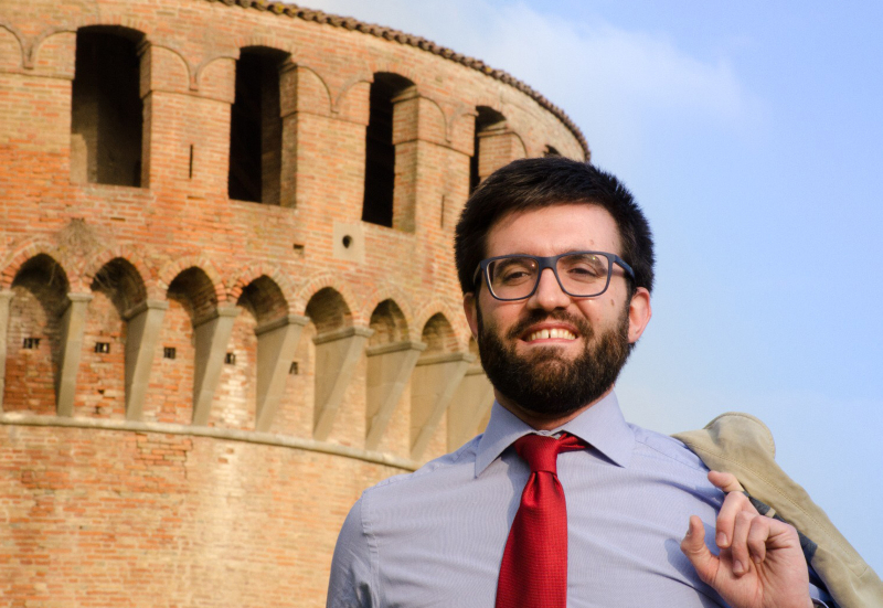 Samachini, trentenne candidato sindaco di Sinistra Unita Imolese