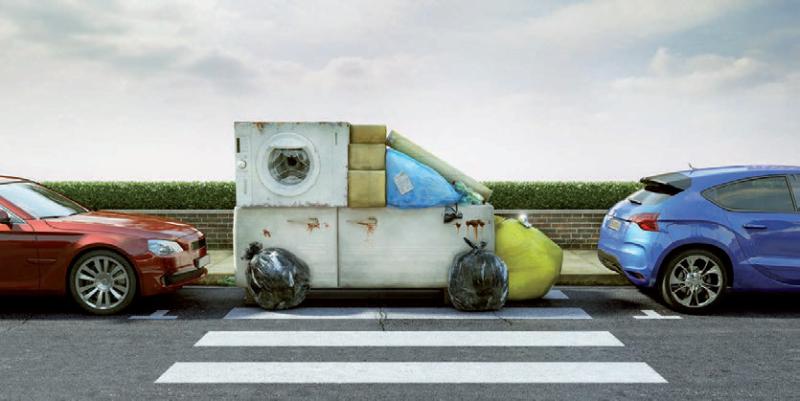 Abbandono dei rifiuti: un'offesa per la città