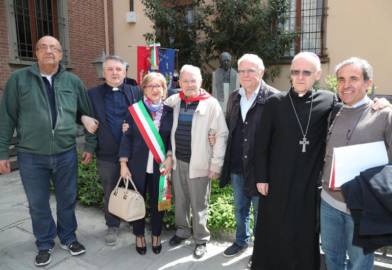 Liberazione, il ricordo del coraggio di don Giulio Minardi