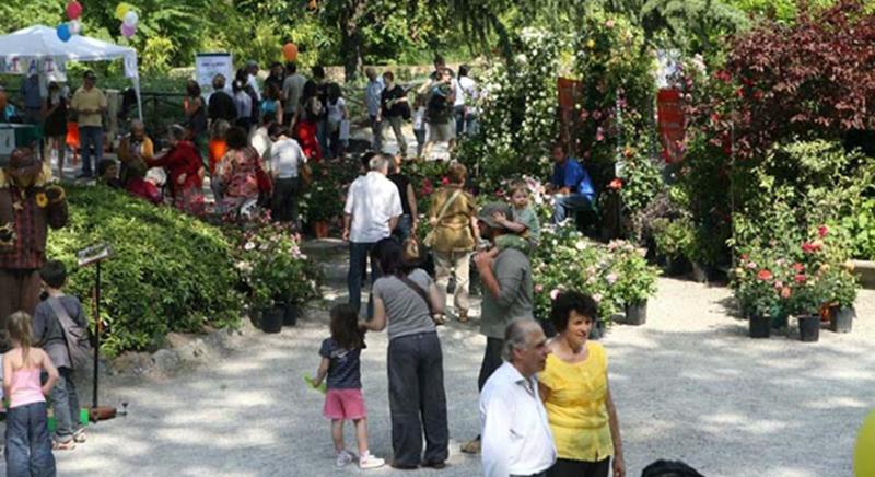 Naturalmente Imola, corti e giardini in primo piano