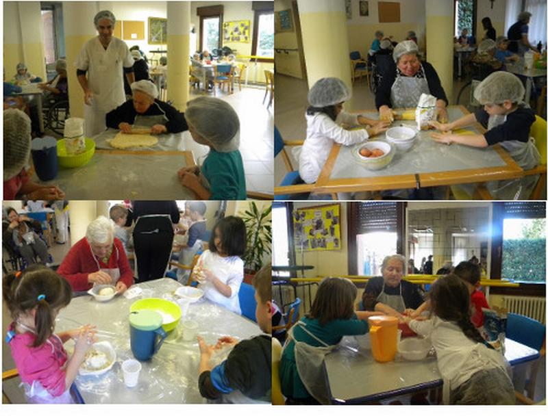 Bambini e anziani insieme, un progetto nella Casa anziani di Fontanelice