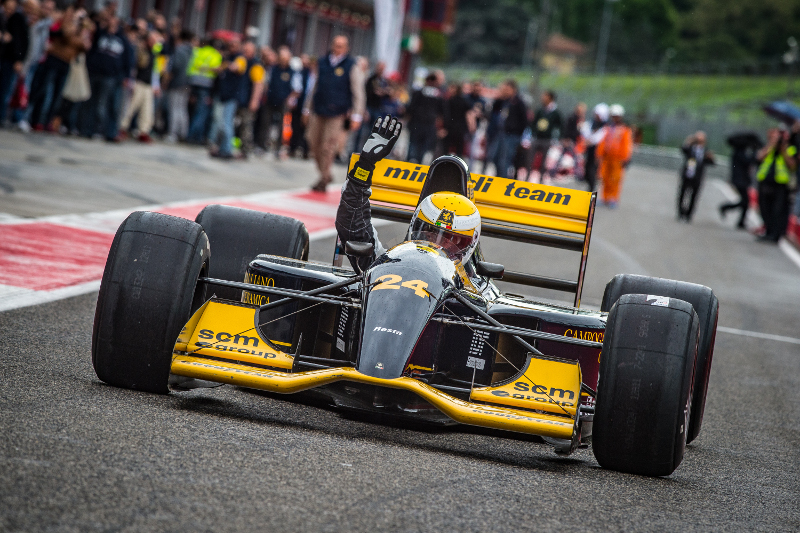 L'Historic Minardi day all'autodromo di Imola