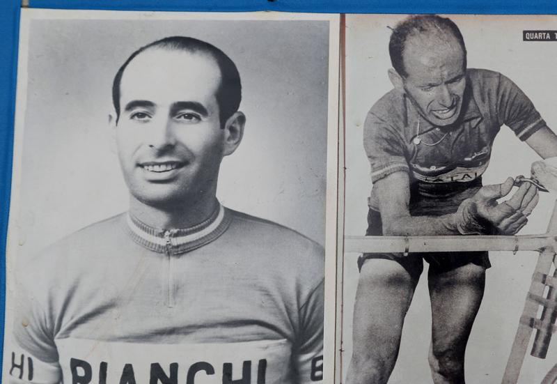 Il Giro d'Italia porta una mostra con tanti ricordi storici di Luciano Pezzi