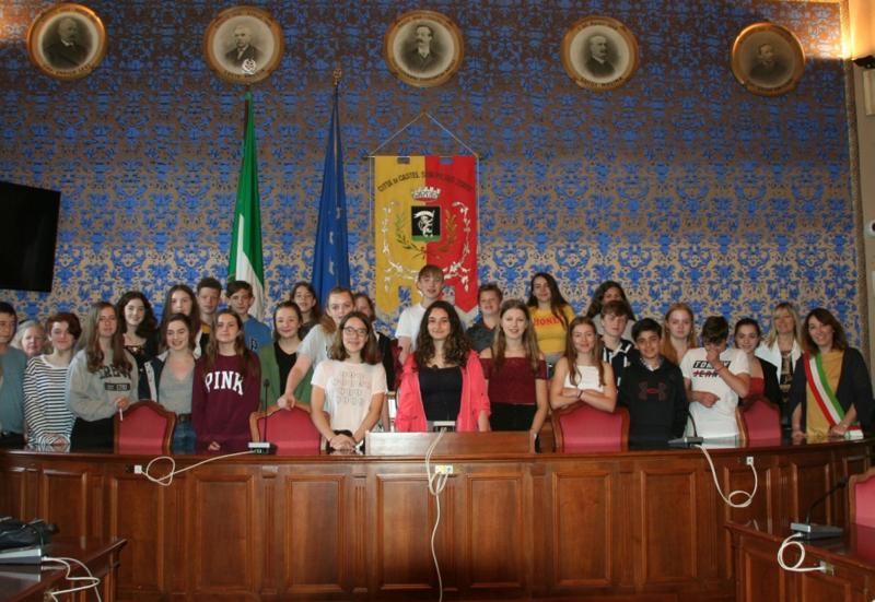 Interscambio culturale, studenti di Winchester ospiti delle scuole Pizzigotti