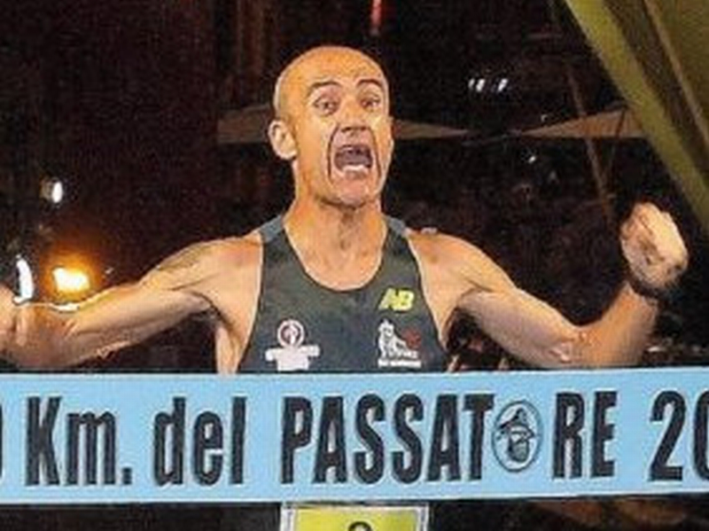 """100 km del Passatore: """"re"""" Calcaterra spodestato dal reggiano Andrea Zambelli"""