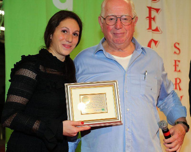 La Sagra dell'Agricoltura ha premiato Carlotta Giovannini