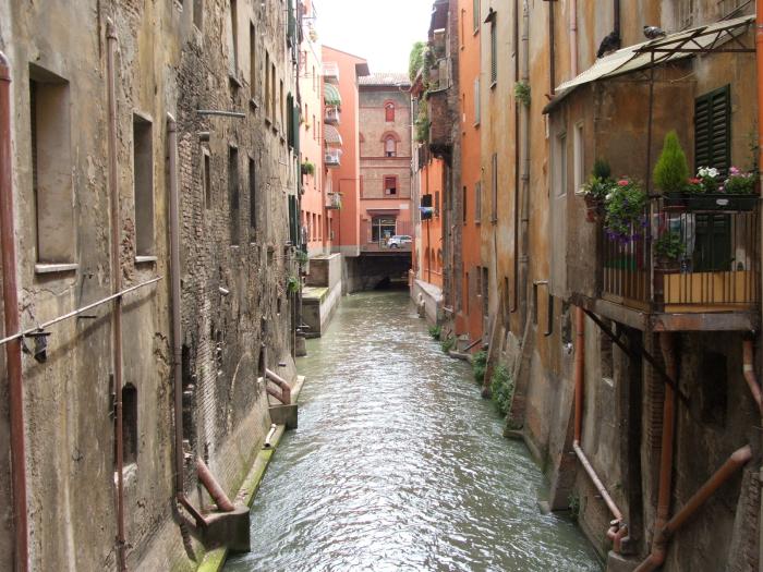 Il sistema idraulico artificiale di Bologna