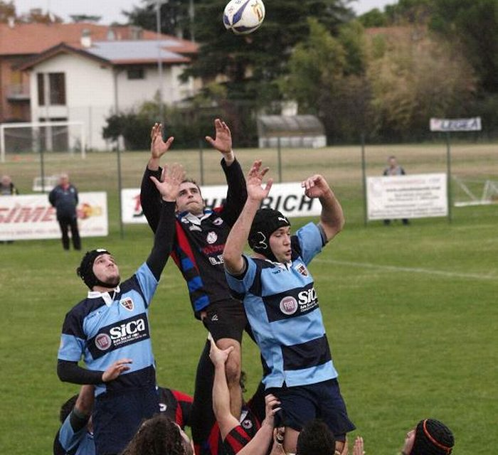 L'Imola Rugby sconfitta in casa