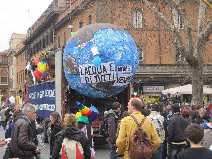 Acqua, Beni comuni e Democrazia, in piazza il 26 novembre