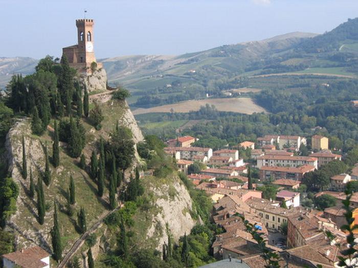 Girolio d'Italia: tappa a Brisighella