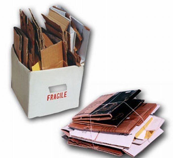 Nuovo servizio di raccolta carta e cartone