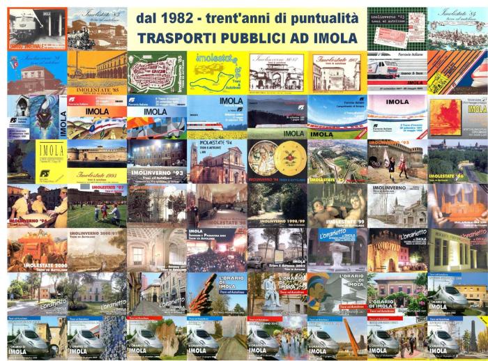 L'orarietto ferroviario di Imola compie 30 anni