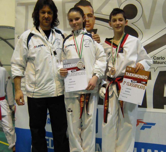 Taekwondo Medicina: arrivano le medaglie