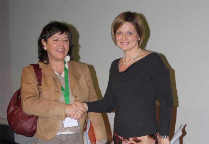 Il  premio Curtoni alla dr.ssa Alessandra Russo