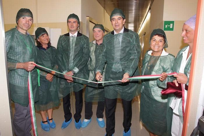 Inaugurata la nuova Banca cornee