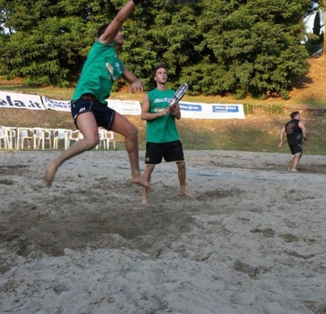 Un week end all'insegna del beach tennis