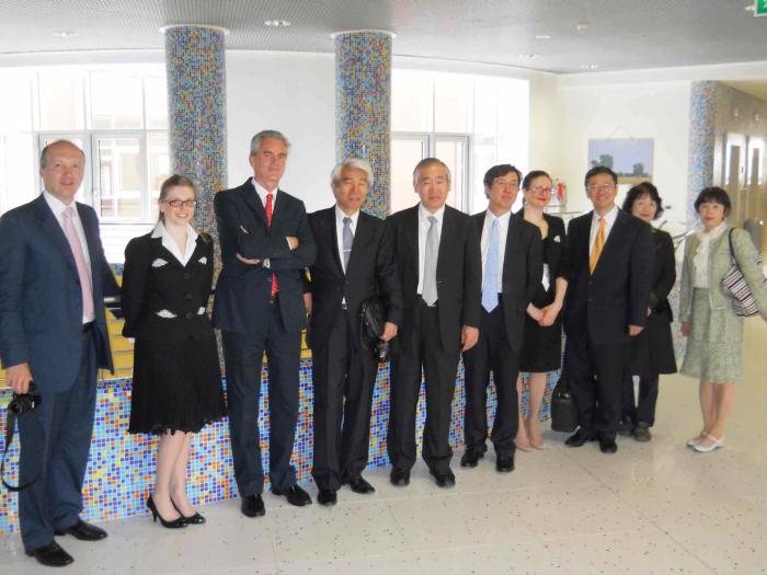 La All Japan Hospital in visita al Maria Cecilia
