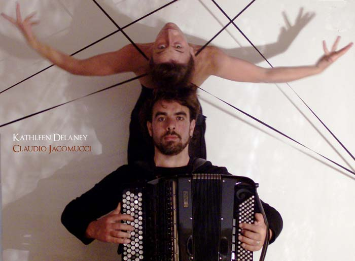 Teatro danza con Kathleen Delaney & Claudio Jacomucci