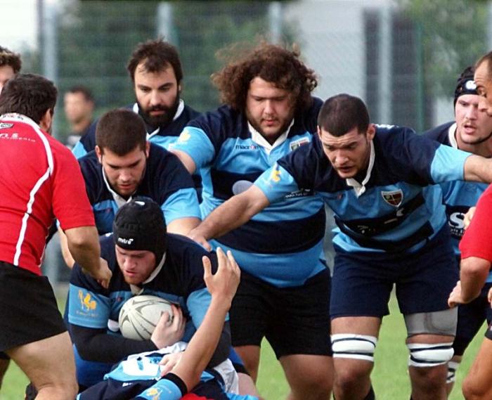 Rugby, l'Autosica si ferma con la capolista
