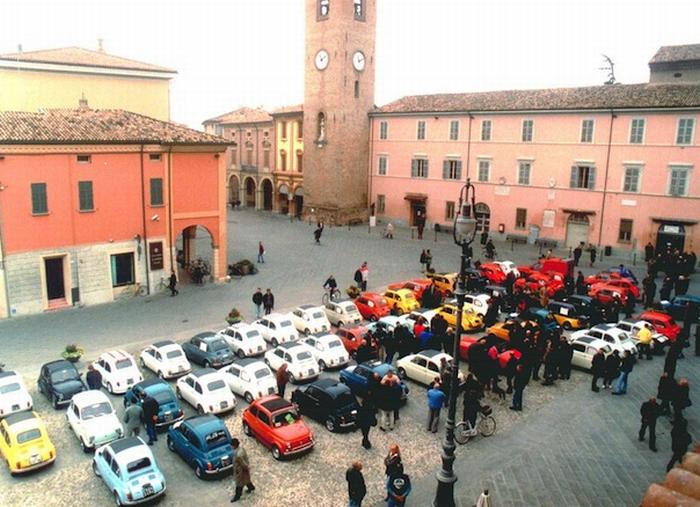 Raduno nazionale delle Fiat 500