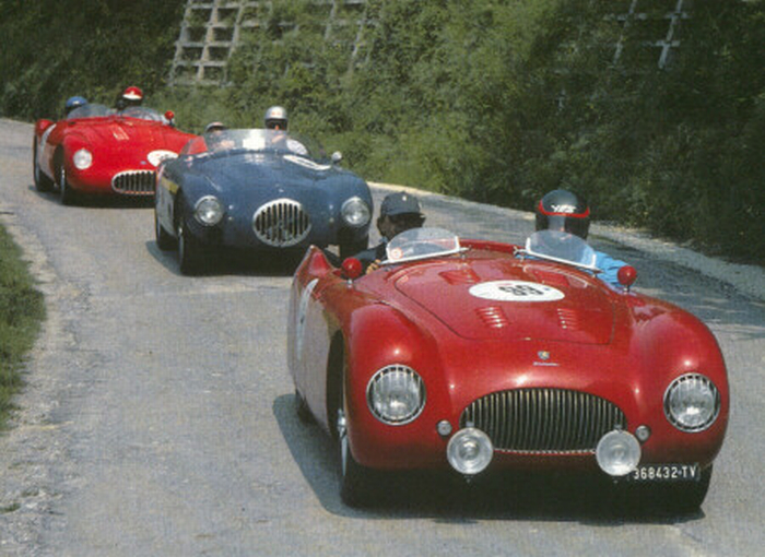 A Ravenna Ferrari e Mille Miglia