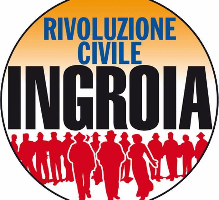 """""""Rivoluzione Civile"""", si parte"""