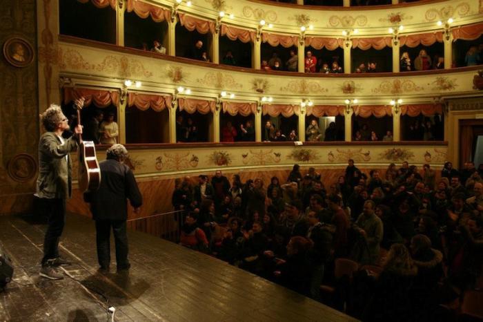 "I Modena City Ramblers a ""Radio Tellers"""