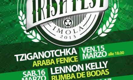 Imola in verde, dal 15 al 17 l'Irish Fest targato Palagenius