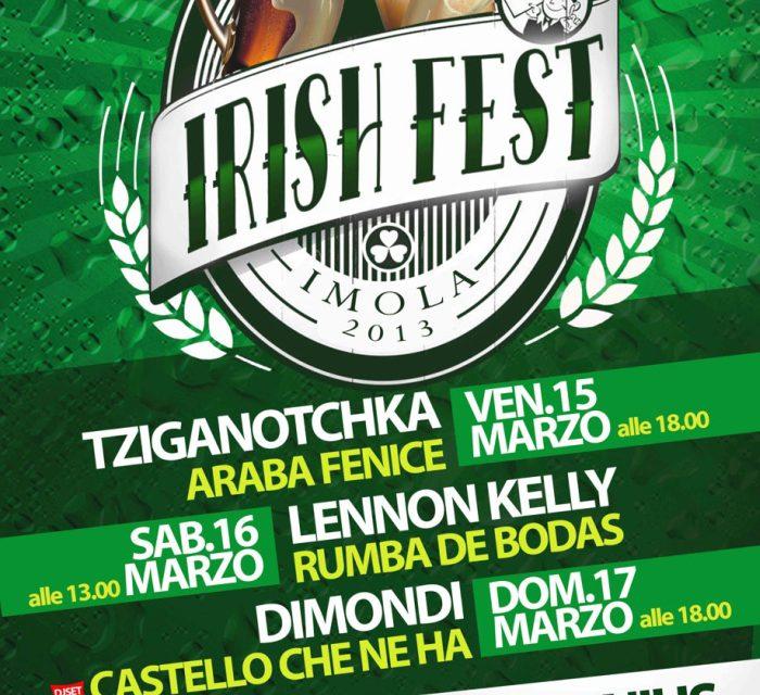 Imola in verde, dal 15 al 17 l'Irish Fest targato Palagenius