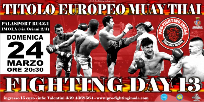 Fighting Day al Palaruggi