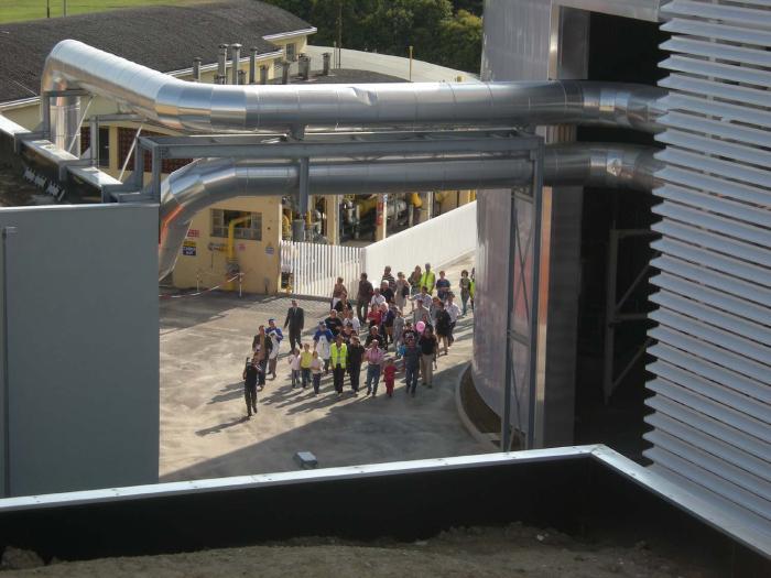Open day alla centrale di cogenerazione