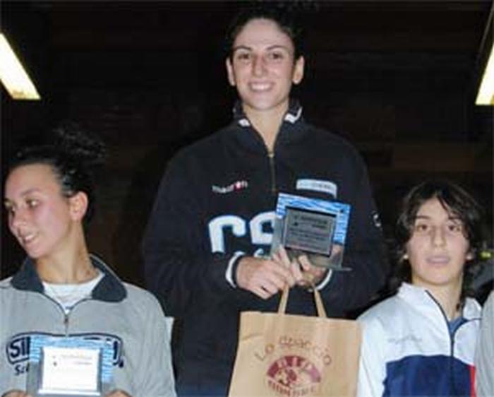 Scherma: Chiara Bravi campionessa italiana