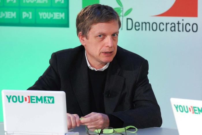 Congresso Pd, Gianni Cuperlo alla Tozzona